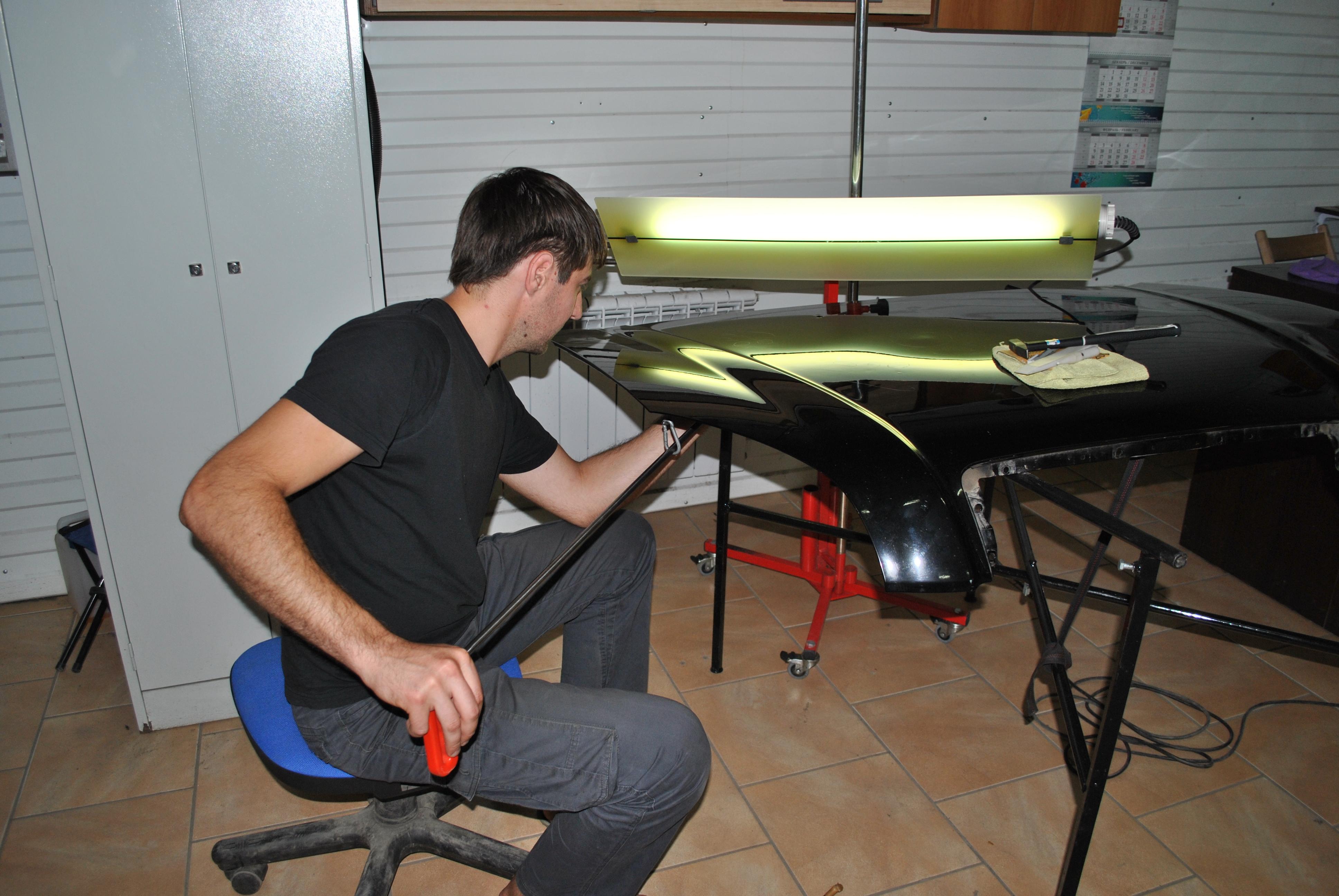 Обучение ремонту вмятин