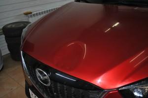Вмятина на Mazda CX-5 в Омске